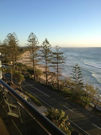 Clubb Coolum Beach: views from balcony