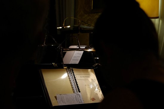 Musica A Palazzo: the music stand