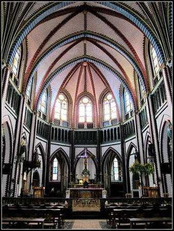 Saint Mary's Cathedral : Internal view