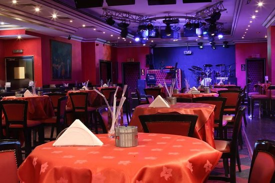Moscow Hotel: Red Square Discotheque