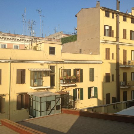 Hotel Galileo: Zimmeraussicht