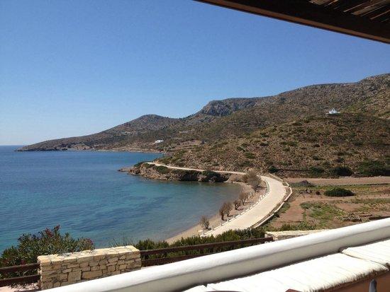 Nefeli Hotel Lipsi: Vista dalla terrazza