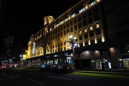 Richmond Hotel Kagoshima Kinseicho: ホテルの向かいはデパートです。