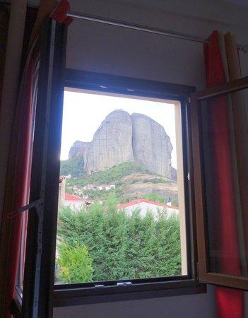 Hotel Meteoritis : udsigt fra værelse 105
