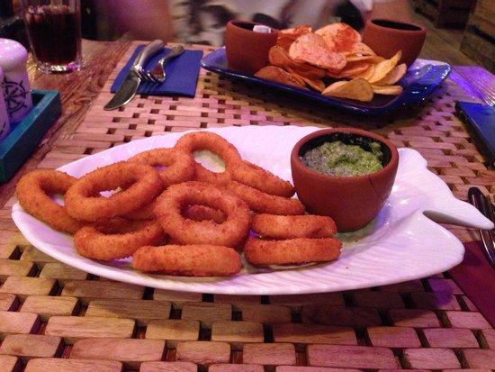 Help Beach Lounge: Lovely food