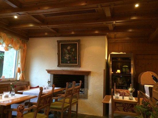 Reiterhof Wirsberg: Restaurant und Frühstücksraum