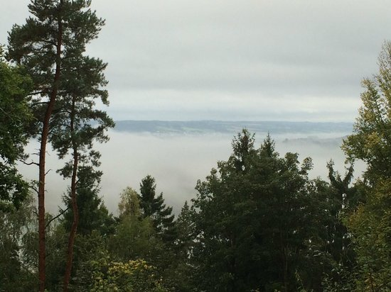 Reiterhof Wirsberg: Ausblick am Morgen