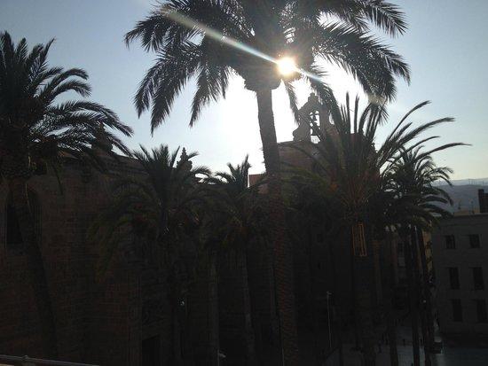 Hotel Catedral Almeria: Atardecer