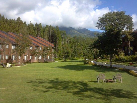 Hotel Sierra resort Hakuba : 中庭
