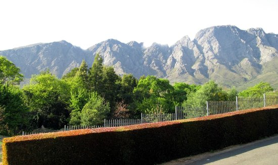 The Villas at Le Franschhoek: View from our vila