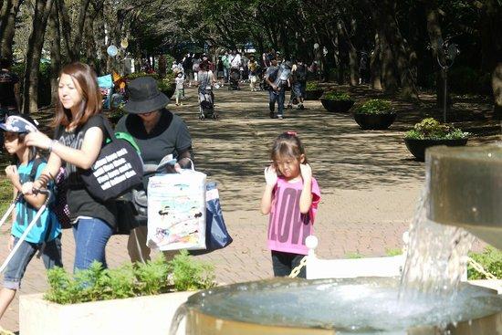 ふなばしアンデルセン公園, であいの泉