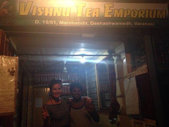 Vishnu Tea Emporium: Great guy!