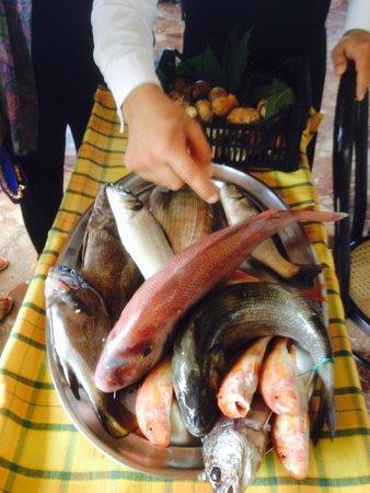 Ristorante Nastro D'Oro: Pesci freschi