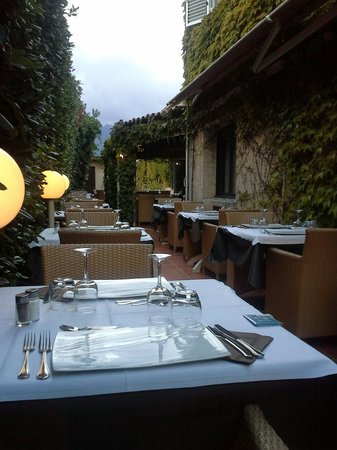 Best Western Hotel U Ricordu: Terrasse du restaurant