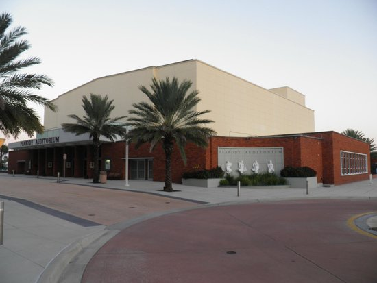 Photo of Theater Peabody Auditorium at 600 Auditorium Blvd, Daytona Beach, FL 32118, United States