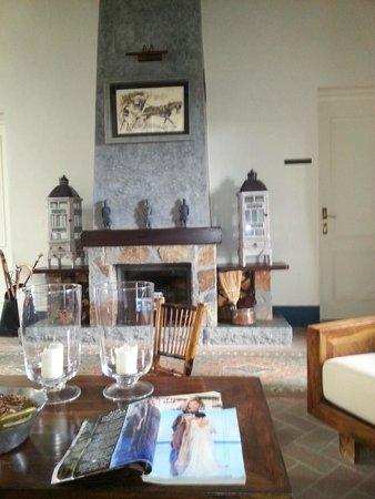 Hotel Mas de Baix : The living area at the second floor