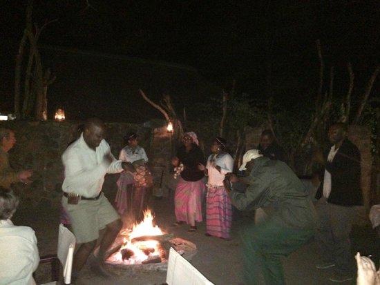 Dulini Lodge: Great food great company