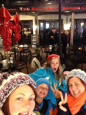The Ballarat Trading Company: Selfie out the front