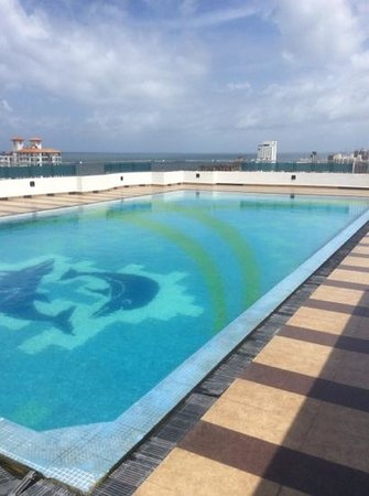 Supun Arcade Residency: the pool was lovely on a hot day