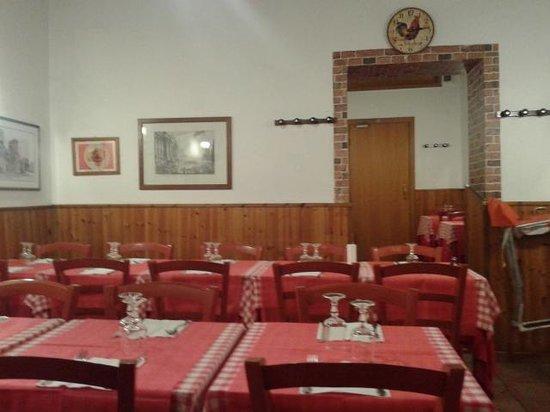 Taverna Le Coppelle: interno della taverna