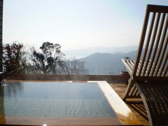 Hotel Grand Bach Atami Crescendo: 客室露天風呂