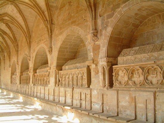 Reial Monestir de Santes Creus: Detail kloostergang