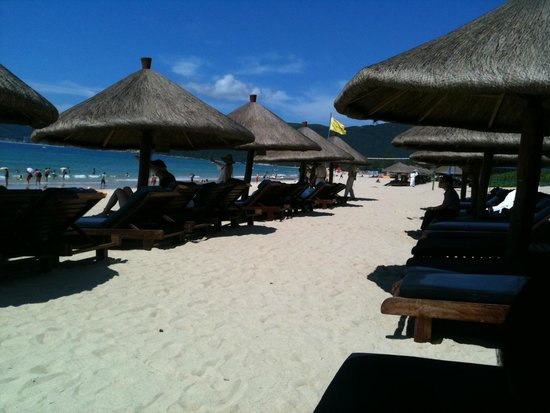 Sheraton Sanya Yalong Bay Resort: spiaggia