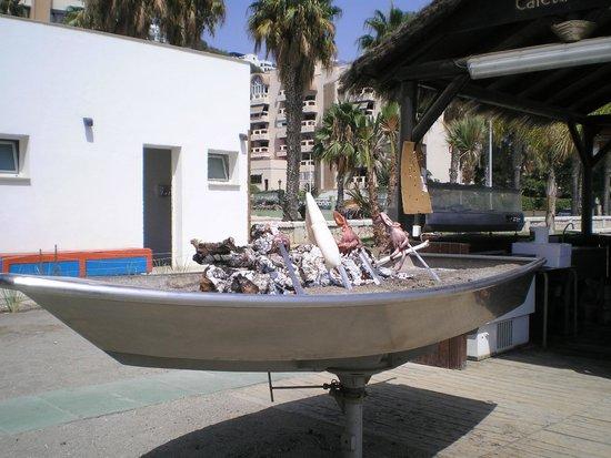 Caleta Playa: Grilled squid