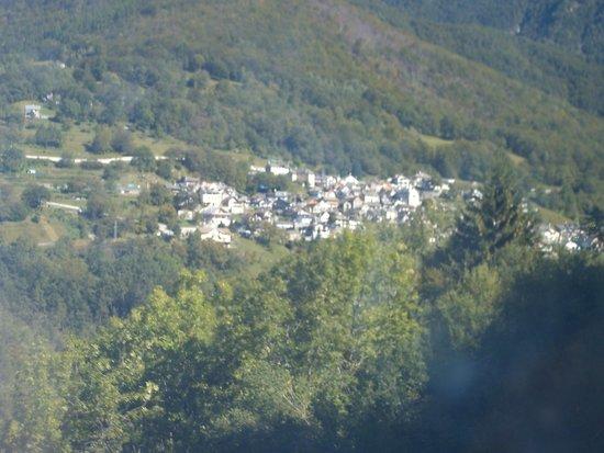 Vigezzina-Centovalli Railway : panorama