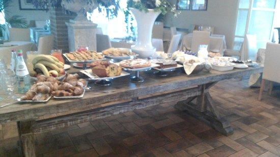 Il Baio Relais & Natural SPA: colazione dolce