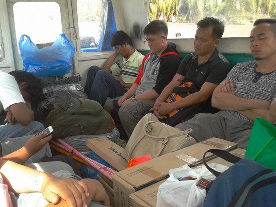 "Ulu Ulu National Park Resort: Public boat (""chicken bus"") to/from BSB"