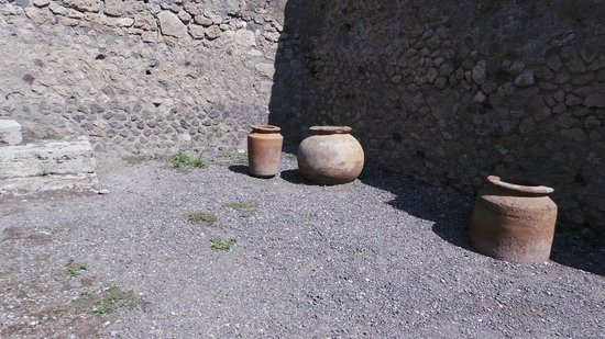 Pompeii Archaeological Park: items from before