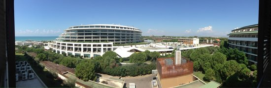 Voyage Belek Golf & Spa : Panoramic view from our room in A block