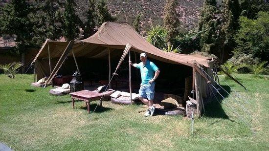 Kasbah Tamadot: The tennis pavilion