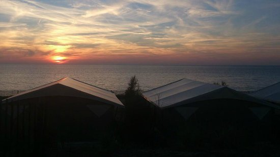 Camping Sandaya Soulac Plage : Sunset