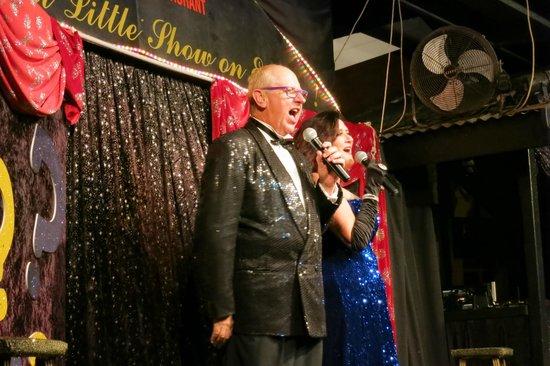 Stage Door: Phil and Bernadette beautiful duet