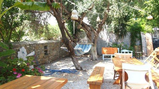Hotel Aegean Village: encore le jardin