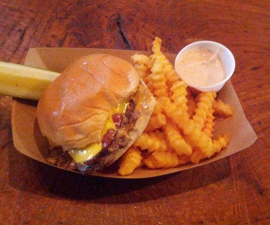 Jack Brown's Beer & burger Joint : The elvis and the best fries around