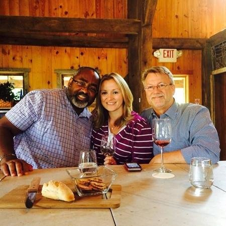 Galer Estate Vineyard and Winery: Great friends! Great wine!