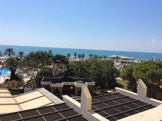 SENTIDO Zeynep Resort: Вид из окна (вид на море)