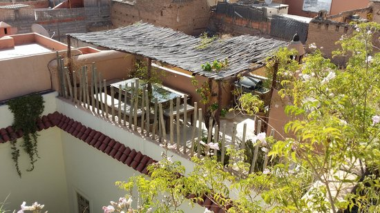 Riad 144 Marrakech : Breakfast on the terrace...