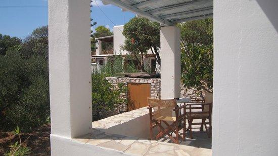 Villas Georgy : les studios et la terrasse