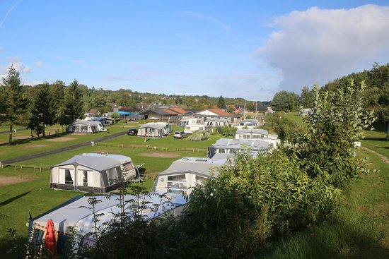 Bryrup, Denmark: View over campsite