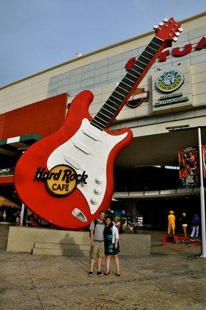 Forum by the Sea : Fachada Hard Rock.