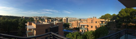 Pierre & Vacances: View from the terrace of Apt.203 of Siurana Building