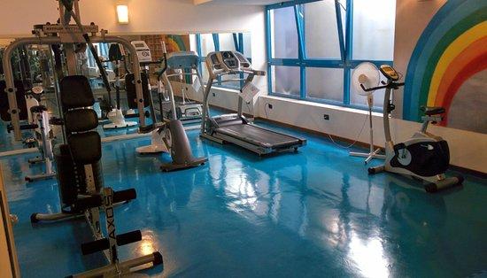 Hotel Bella Italia : sala fitness