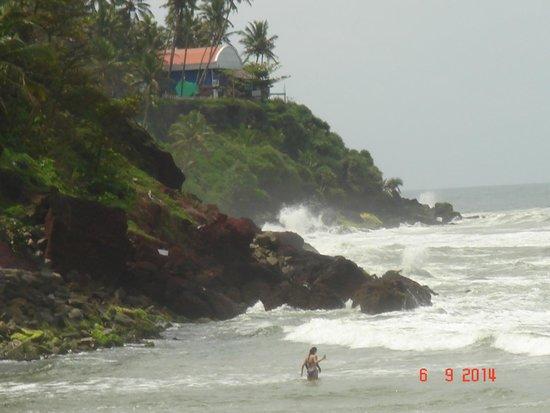 Clafouti Beach Resort: CLIFF View