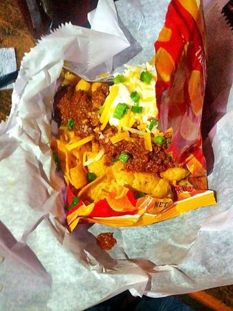 Billy Jack's Wing & Draft House: Frito Pie