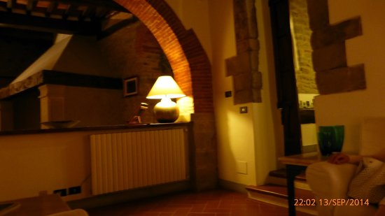 Relais San Pietro in Polvano : Lobby