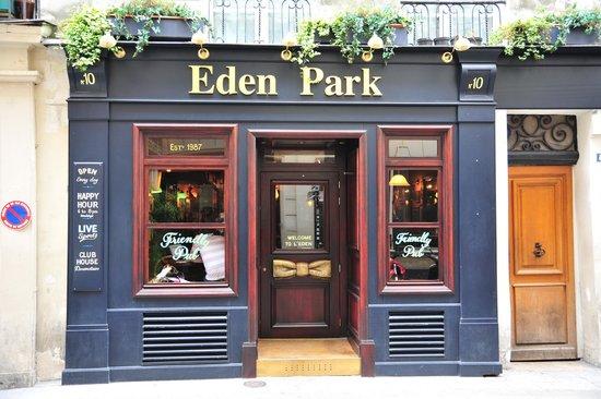 eden park pub paris omd men om restauranger tripadvisor. Black Bedroom Furniture Sets. Home Design Ideas